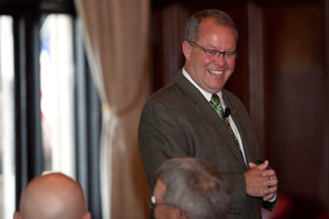 MSU Athletic Director Mark Hollis