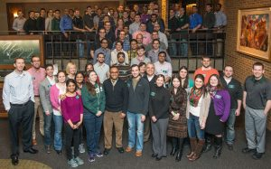 Students and staff at BroadWeek IV
