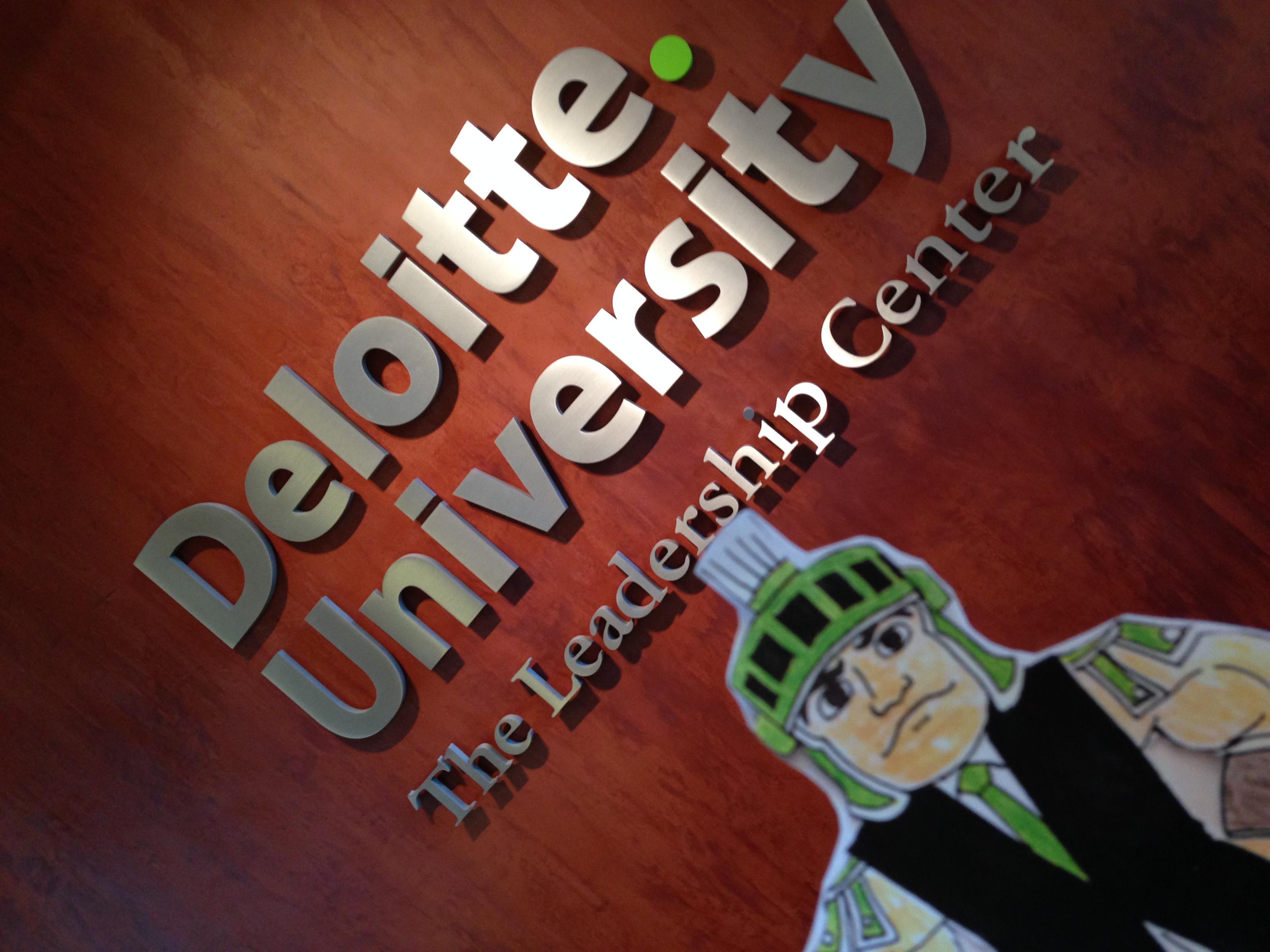 da439004a5e Thin Business Sparty at Deloitte University (tagline  The Leadership Center)