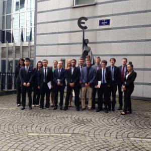 Global Finance Studies students in Belgium 1