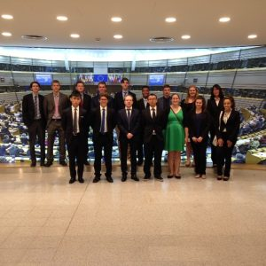 Global Finance Studies students in Belgium 2