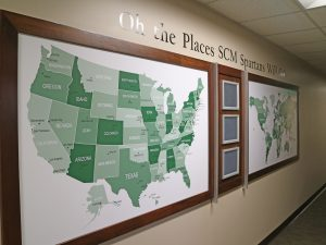 Supply Chain Management graduation map