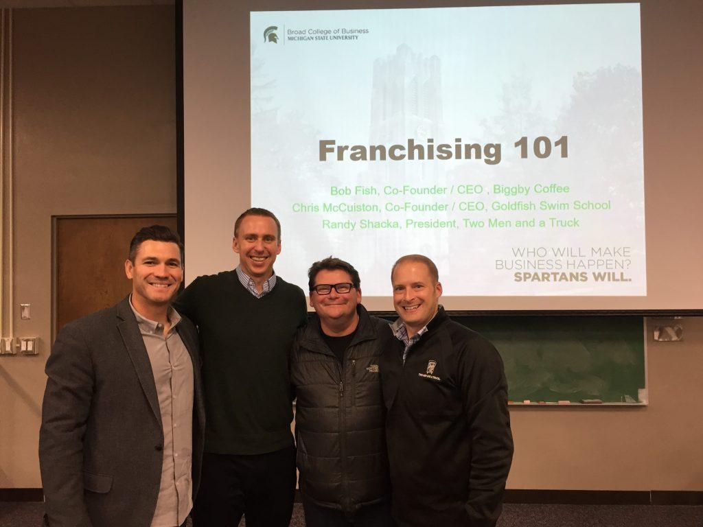 Franchising 101 speakers