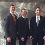 Mike Murri, Chris Mulligan and Ethan Thomas at ACG Cup Western Michigan.