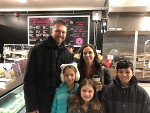 Customers at Daddy's Doughnuts in Utica, Michigan. Photo courtesy Daddy's Doughnuts.