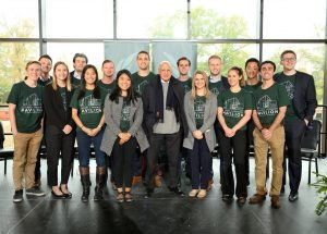 FMI Scholars Assist at Minskoff Pavilion Naming Ceremony