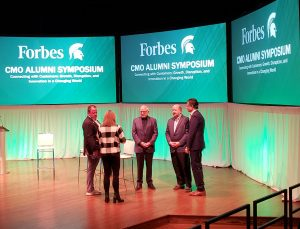 The 2018 Forbes CMO Alumni Symposium. Photo by Omar Sofradzija.