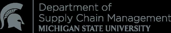 MSU Department of Supply Chain Management logo