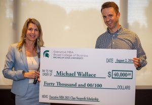 EMBA Scholarship Award Winner: Michael Wallace