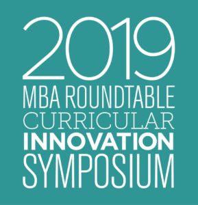 2019 MBA Roundtable Curricular Innovation Symposium Logo