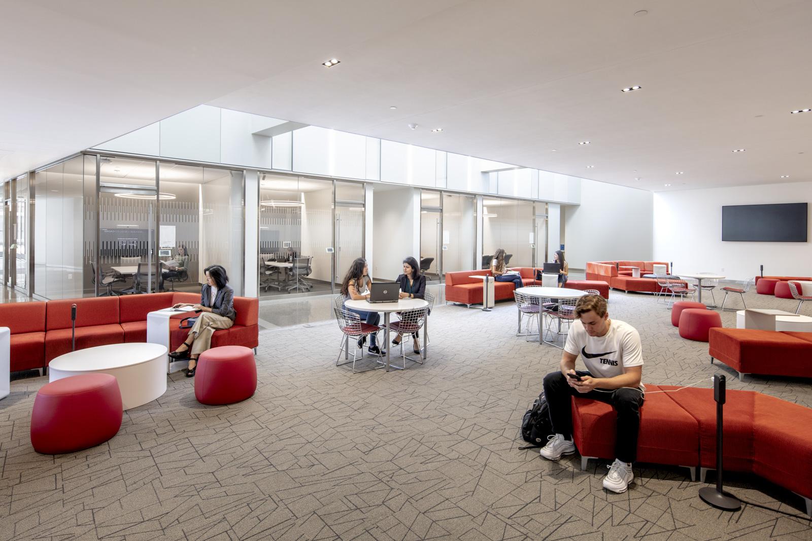 MSU Minskoff Pavilion study space