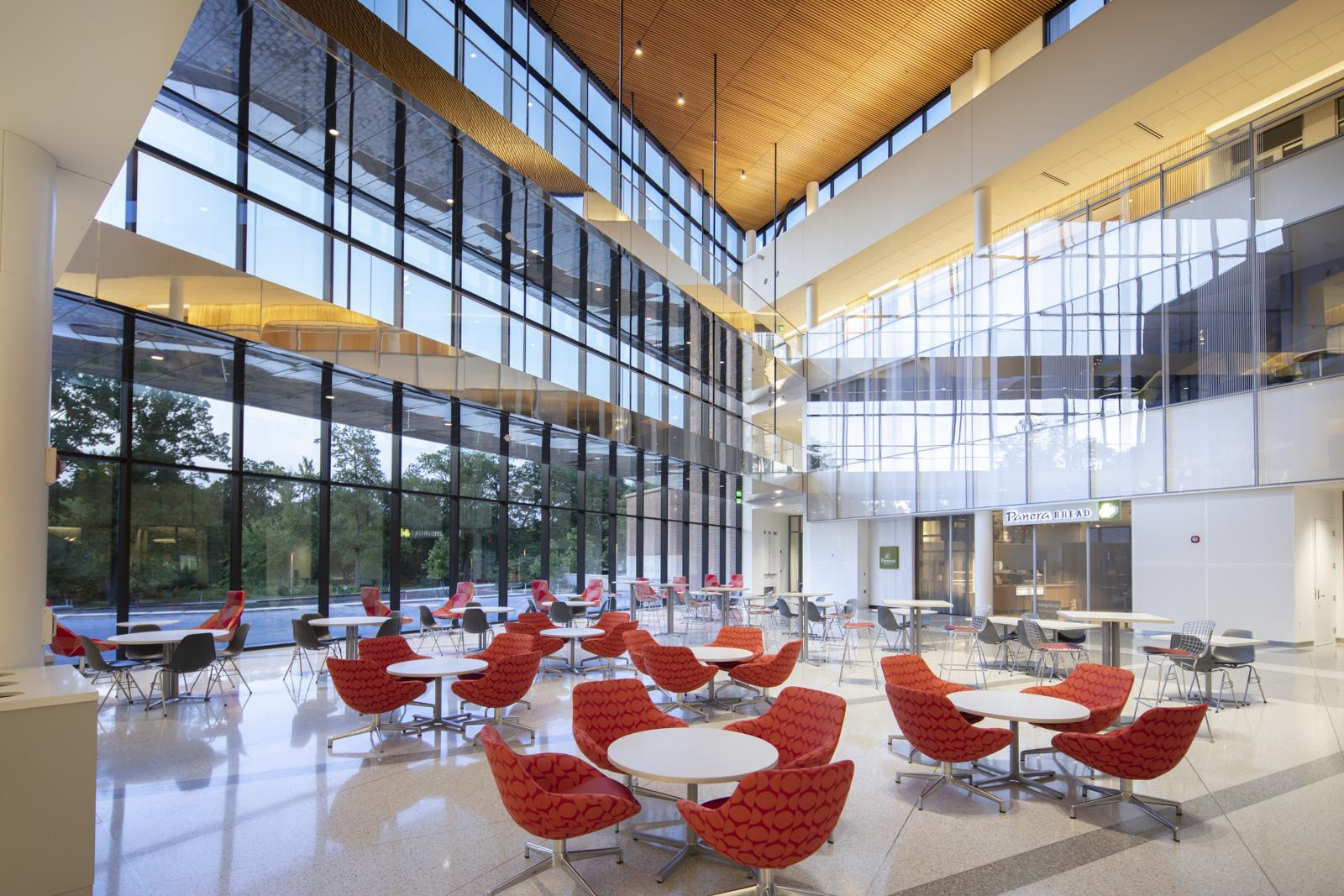 Inside MSU Minskoff Pavilion