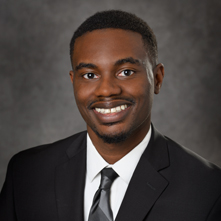 Headshot of MBA student Blake Robinson
