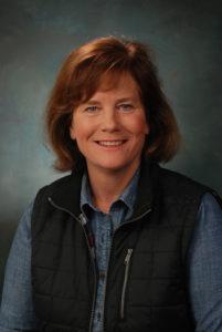 Professional headshot of alumna Linda Hubbard, president and COO of Carhartt
