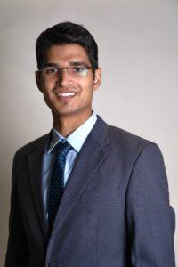 Professional headshot of M.S. Business Analytics student Syed Kamoonpuri