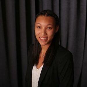 A professional image of Amyl Patterson (B.A. Marketing '21)