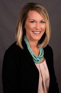 Professional headshot of Tammy Hannah (EMBA '20), president and CEO of Origami Brain Injury Rehabilitation Center.