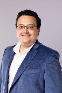 Professional headshot of Carlos Valderrama, LLamasoft senior vice president of customer success