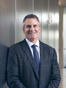Professional headshot of MSU alumnus Ray Scott, president and CEO of Lear Corporation