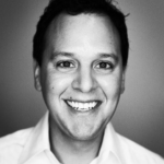 Black and white headshot of Eloy Trevino