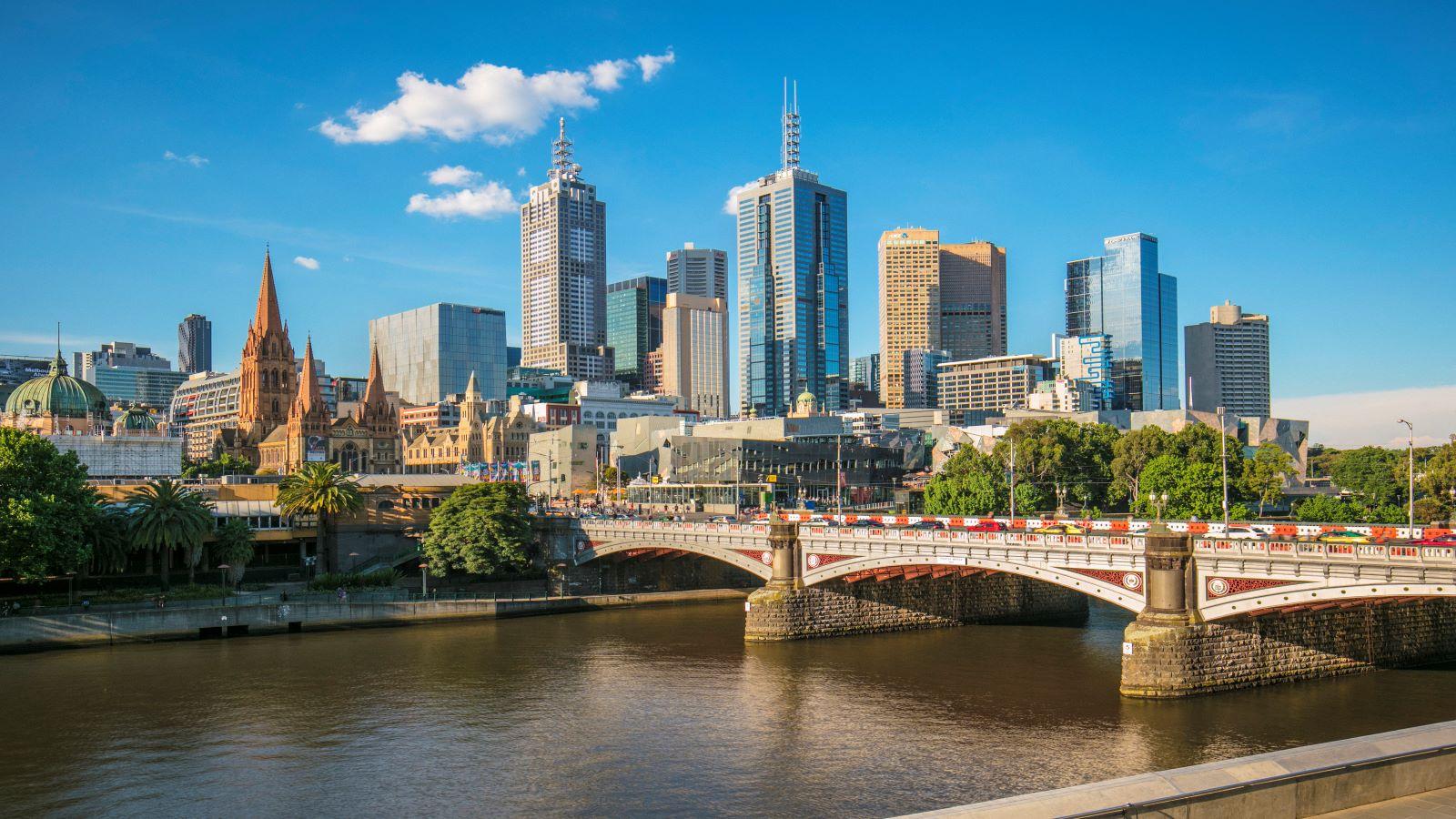 Melbourne central business district, Victoria, Australia