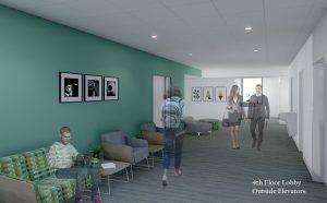 Eppley Center renovation rendering