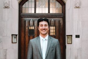Headshot of Michael Anthony Valente, supply chain management junior
